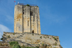 St. Emilion's King's Tower Stock Image