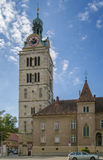 St. Emmeram Abbey tower, Regensburg Stock Photography