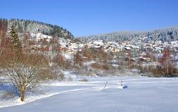 St.englmar bavarianskog, bayerischerwald Arkivfoto