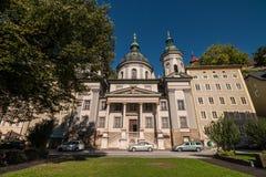 St. Erhard`s church Erhardkirche in Nonntal area of Salzburg, Stock Photos