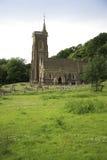 St Etheldreda教会, Exmoor 库存照片
