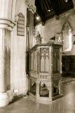 St Etheldreda Pulpit Royalty Free Stock Photo