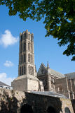 St Etienne Cathedral a Limoges Fotografia Stock Libera da Diritti