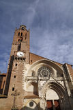 St Etienne church in toulouse Stock Photography