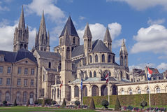 St-Etienne de Caen Fotografía de archivo