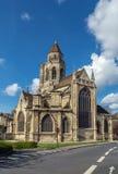 St Etienne-le-Vieux церков, Кан, Франция стоковые фотографии rf
