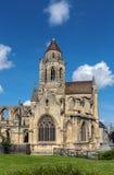 St Etienne-le-Vieux церков, Кан, Франция стоковое фото