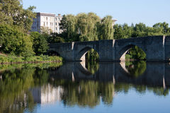 St. Etienne's bridge in Limoges Royalty Free Stock Image