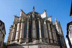 St. Etienne's cathedral in Limoges Royalty Free Stock Photo