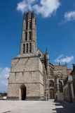 St. Etienne's cathedral in Limoges Stock Photography