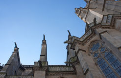 St. Etienne's cathedral in Limoges Royalty Free Stock Image