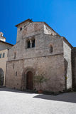 St. Eufemia Church. Spoleto. Umbria. Royalty Free Stock Image