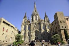 St. Eulalia Spanien-Barcelona Stockfoto