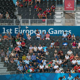 1st European Games Stock Images