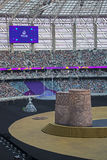 1st European Games 2015. James Harveys closing ceremony of the 1st European Games attracted 68,000 spectators in the newly built Olympic Stadium in Baku Stock Images
