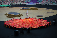 1st European Games 2015. James Harveys closing ceremony of the 1st European Games attracted 68,000 spectators in the newly built Olympic Stadium in Baku Stock Photo