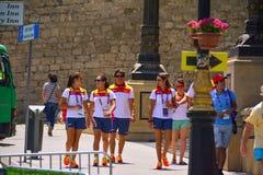 1st europeiska lekar, Baku, Azerbajdzjan Royaltyfri Bild