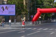 1st europeiska lekar, Baku, Azerbajdzjan Royaltyfria Bilder