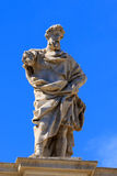 St. Eusignius statue Royalty Free Stock Photos