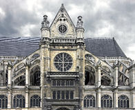 St. Eustache cathedral 1 Stock Images