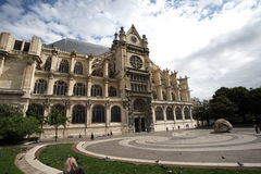St. Eustache cathedral Stock Photography