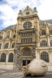St. Eustache church in Paris Stock Photo