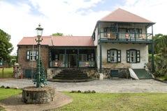 St. Eustatius Historical Foundation Museum. Oranjestad Dutch Caribbean Netherlands Antilles Royalty Free Stock Photography