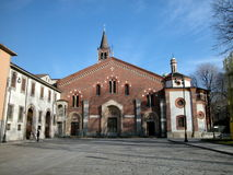 St. Eustorgio church, Milan Stock Photography