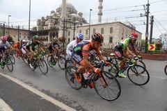 51st excursão presidencial do ciclismo de Turquia Imagens de Stock Royalty Free