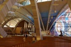 St-fältpräst Pio Pilgrimage Church Royaltyfri Bild