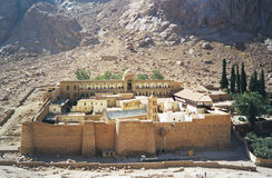 st för catherine egypt kloster s arkivfoto