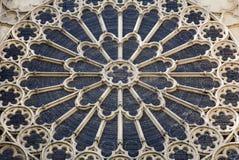 st för domkyrkadenis paris rosette Fotografering för Bildbyråer