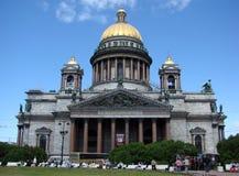 st för domkyrkaisaakpetersburg russia saint Fotografering för Bildbyråer