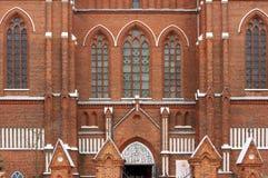 st för matas för anyksciaikatolsk kyrkaframdel gotisk arkivbilder