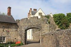 ST Fagans Castle Στοκ Εικόνα