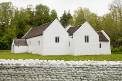 St Fagans: Nationaal Geschiedenismuseum Stock Foto