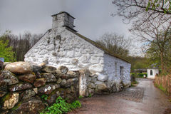 St Fagans old house Stock Photo