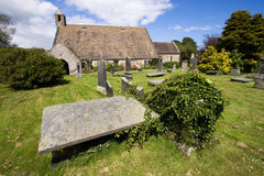 St Fillan's Church, Aberdour, Fife Stock Photo