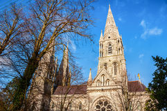 St Fin Barre's Cathedral in Cork Royalty Free Stock Photography