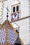 St. Fläckkyrka Arkivbild
