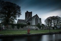 St Flannans爱尔兰教会Killaloe 库存照片