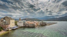 St. Florent In Corsica Lizenzfreies Stockfoto