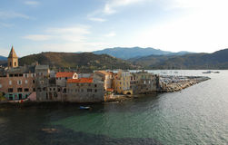 St Florent, Corsica Stock Photography