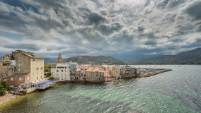 St Florent In Corsica Royalty Free Stock Photo