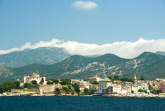 St Florent - Corsica (France) Royalty Free Stock Photos
