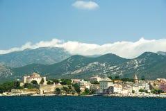 St Florent - Corsica (Francia) Fotografie Stock Libere da Diritti
