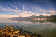 St. Florent, Korsika Lizenzfreies Stockfoto