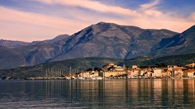 St. Florent, Korsika Lizenzfreie Stockfotos