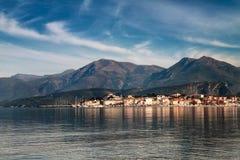 St. Florent, Korsika Stockfotografie