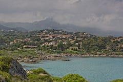St-Florent (Saint-Florent), Balagne, Northern Corsica, France Stock Photography